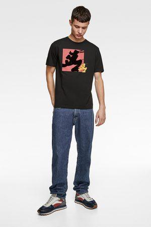 Zara Men T-shirts - T-shirt with combined ©disney print