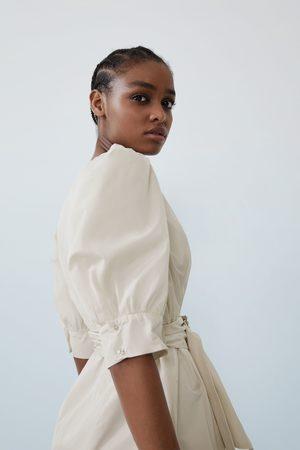 Zara Voluminous dress with belt