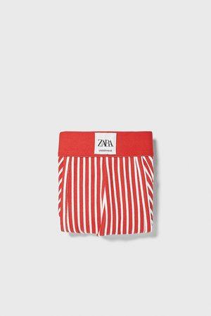 Zara Stripe print boxers