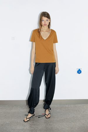 Zara V-neck t-shirt
