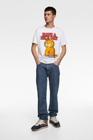 Zara Men T-shirts - Garfield ©paws inc t-shirt
