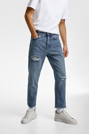 Zara Essentials jeans with rips