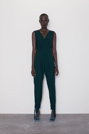 Zara Wrap jumpsuit with ties