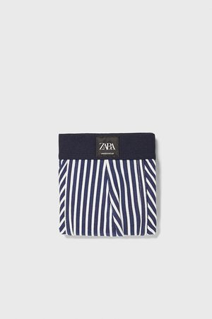 Zara Men Boxer Shorts - Stripe print boxers