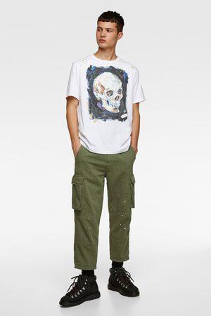 Zara Skull print t-shirt