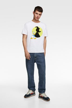 Zara Men T-shirts - T-shirt with combined ©disney print