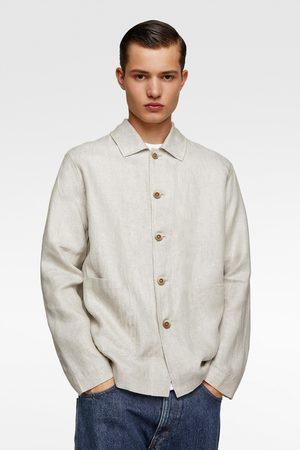 Zara Linen overshirt
