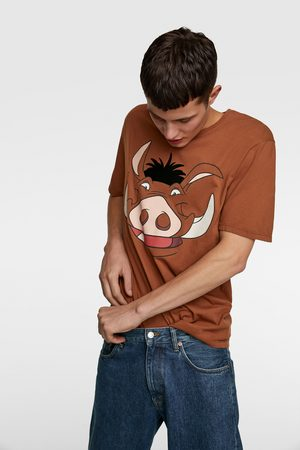 Zara Men T-shirts - Pumbaa © disney t-shirt