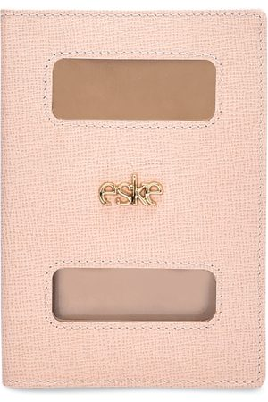 Eske Unisex Nude-Colored Passport Holder
