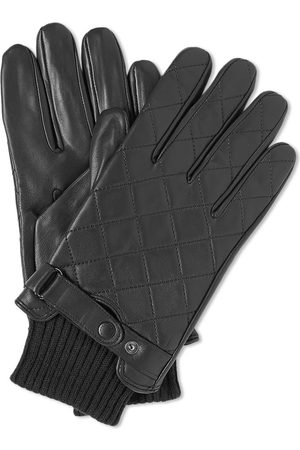 Barbour Men Gloves - Quilted Leather Glove