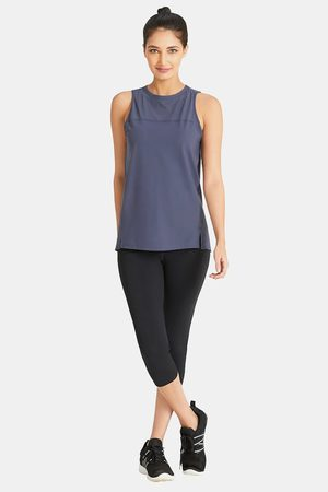Amante Smooth and Seamless Easy Movement Relaxed Fit Tank Top Grey
