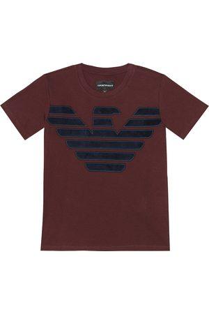 Emporio Armani Logo cotton T-shirt
