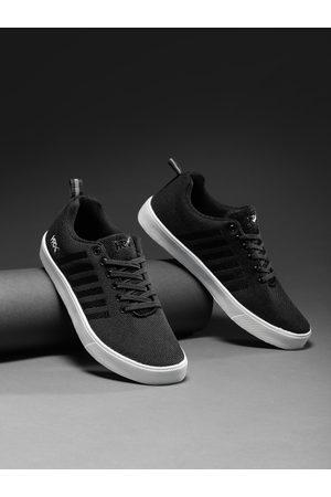 HRX Men Black Sneakers