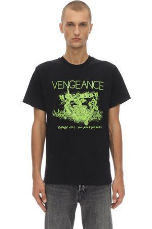 NASASEASONS Vengeance Printed Cotton T-shirt