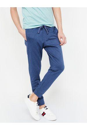 Lifestyle Men Blue Solid Slim-Fit Joggers