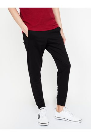 Lifestyle Men Black Solid Slim-Fit Joggers