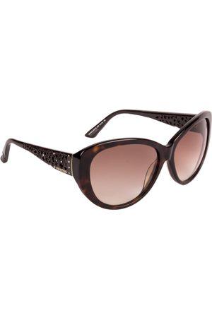 Swarovski Women Brown Cateye Sunglasses SK0053 61 52F