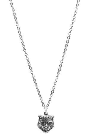 Gucci Men Necklaces - Feline Head Pendant Necklace