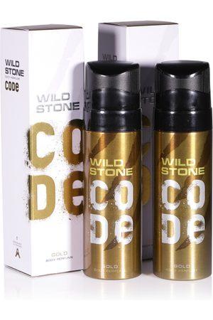 Wild stone Men Set of 2 Code Gold Body Perfume