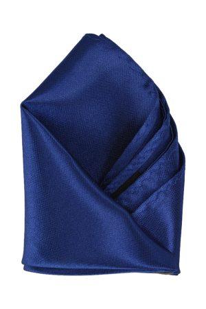 Calvadoss Men Blue Solid Pocket Square