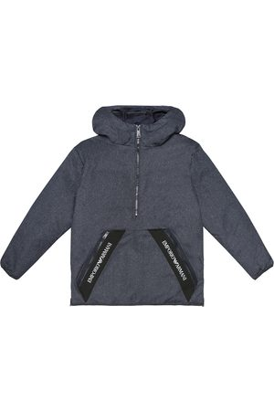 Emporio Armani Girls Jackets - Down hooded jacket