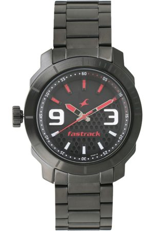 Fastrack Loopholes Men Black Analogue watch NL3168NM01