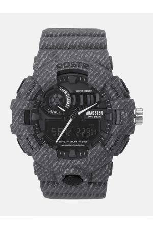 Roadster Men Black Chronograph Analogue and Digital Watch MFB-PN-SM-8001