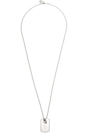 Alexander McQueen Identity tag necklace