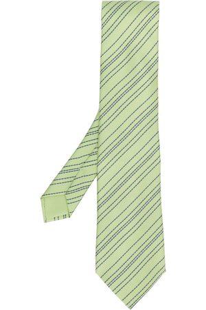 Hermès 2000s pre-owned patterned tie