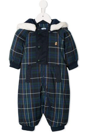 Familiar Plaid pattern snowsuit