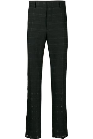 Fendi Checked trousers