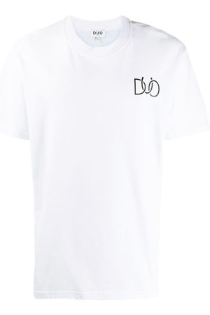 DUO Logo graphic print T-shirt