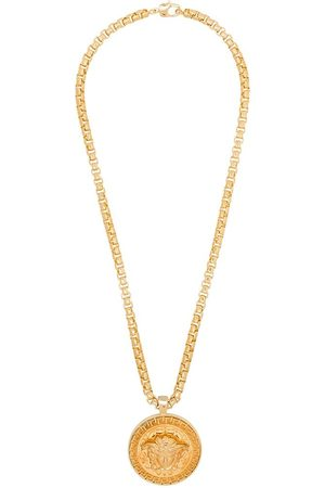 VERSACE Medusa logo medallion necklace