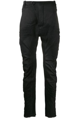 MASNADA Ruched fitted trousers