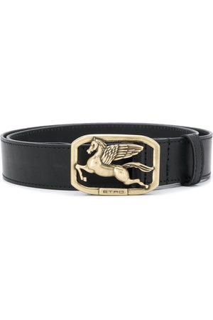 Etro Logo buckle belt
