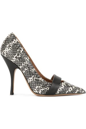 Emporio Armani Printed pointed-toe pumps