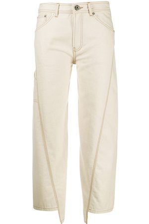 Lanvin Mid-rise wide-leg trousers