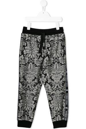 Dolce & Gabbana Printed logo tape joggers