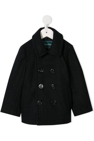 Familiar Classic double-breasted coat