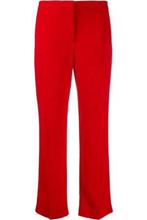 Alexander McQueen Tailored cropped trousers