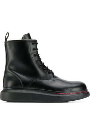 Alexander McQueen Oversized ankle boots