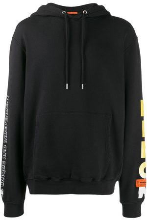 Heron Preston Flame face hoodie