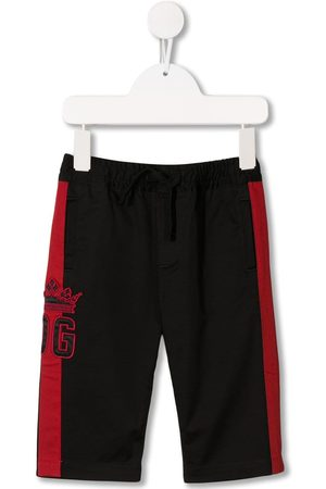 Dolce & Gabbana Baby Chinos - Logo embroidered track pants