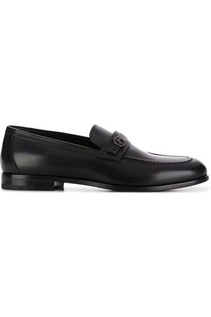 Armani Men Loafers - Logo-plaque loafers