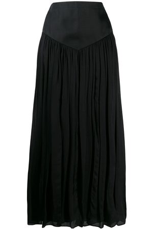 Emanuel Ungaro Pre-Owned 1990s pleated maxi skirt