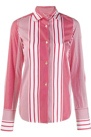 ROMEO GIGLI 1990's striped slim shirt