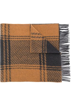 MACKINTOSH & Charcoal Cashmere Blend Scarf ACC-020
