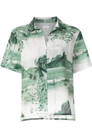 OSKLEN RJ print short sleeves shirt