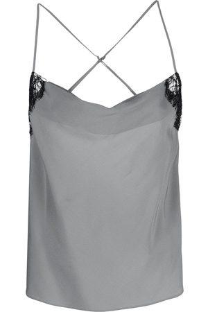 Kiki de Montparnasse Women Vests - Cowl-neck camisole top