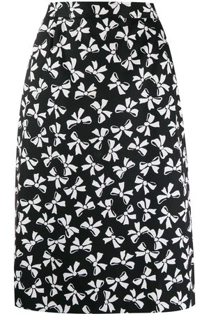 Yves Saint Laurent Bow print skirt